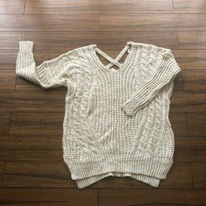 NWT/ wishlist chunky sweater , size S/M